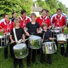 Musikum Drum Corps begeisterte mit der musikalischen Eröffnung des Abends