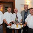 Herbert Wieser, Johannes Santner, Johann Ramsauer, Josef Voithofer, KommR Josef Wenger