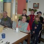 Besuch im Altersheim Hallwang