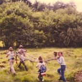 Sommerlager 1981 in Draschitz