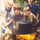 Sommerlager 1984 in Oberwölz
