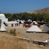 Lagerplatz in Mykonos