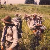 Sommerlager 1982 in Zwettel