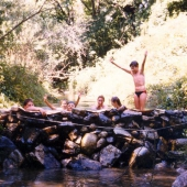Sommerlager 1989 in Frankreich