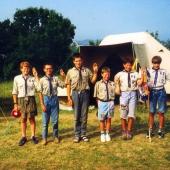 Sommerlager 1993 in Frankreich